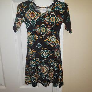Lularoe adeline dress size 2T